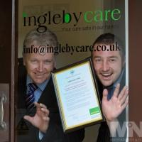 Job centre Plus Award for Ingleby Care, Atherstone.
