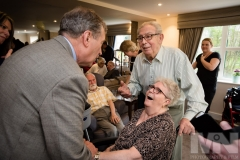 Emmerdale actor John Middleton officially opens Kiwi House care home in Derby. Photograph by Martin Neeves Photography & Film - www.martinneeves.com - Tel: +44 (0)7973 638591 - E-mail: martinneeves@googlemail.com