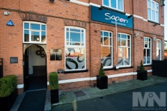 The outside of Sapori Italian Restaurant in Anstey, Leicestershire.