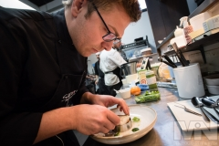 Andrea Scarpati, chef and co-owner of Sapori Italian Restaurant in Anstey, Leicestershire.