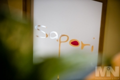 The logo of Sapori Italian Restaurant in Anstey, Leicestershire.
