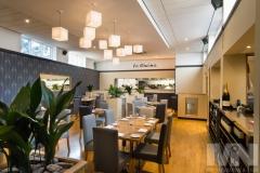 The interior of Sapori Italian Restaurant in Anstey, Leicestershire.