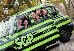 SGP Commercial Property Services - photographs help business press relations