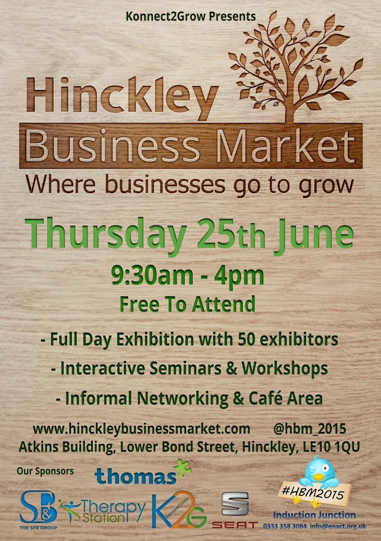 Hinckley Business Market 2015
