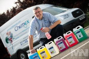 Press releases - New CHEMEX franchisee for Coventry and Warwickshire Jon Groves.